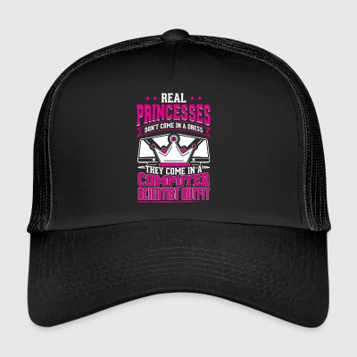 REAL scientifique informatique de PRINCESSES - Trucker Cap