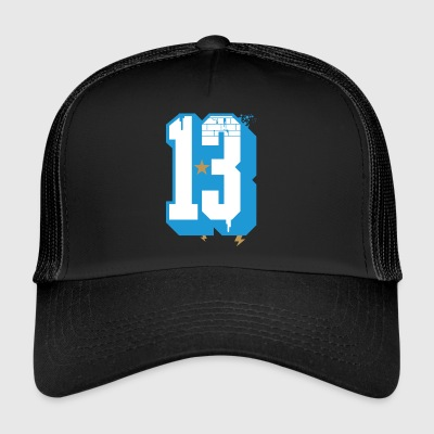 Marseille 13 Graffiti - Trucker Cap