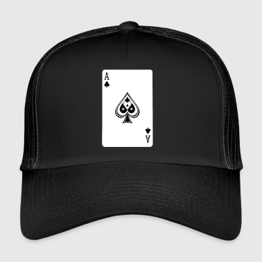 Ace Of Spades - Trucker Cap