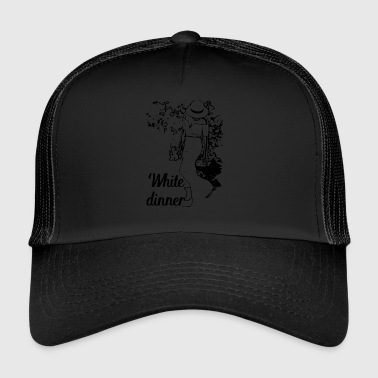 White Dinner Kollektion 1 - Trucker Cap