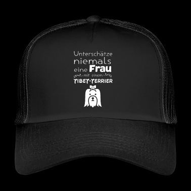 Terrier tibétain Pet Dog design - Trucker Cap