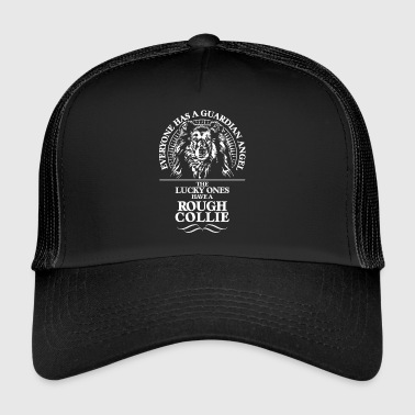 ROUGH COLLIE Guardian Angel - Trucker Cap