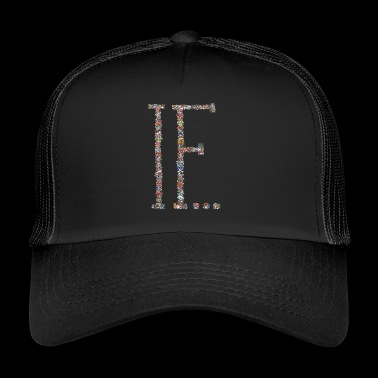 IF ... / mushrooms / community - Trucker Cap