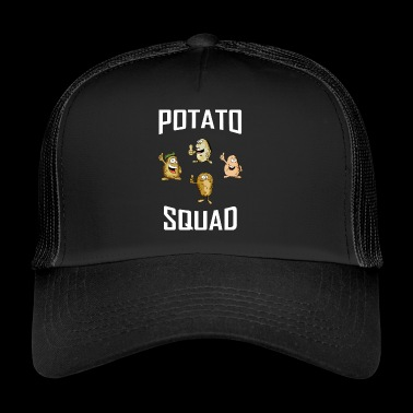 ++Potato Squad++ Potatoe T-Shirt Potatos Geschenk - Trucker Cap