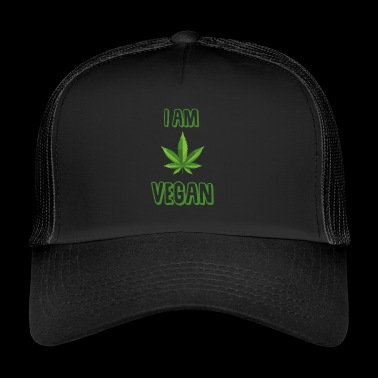 I am Vegan - Trucker Cap