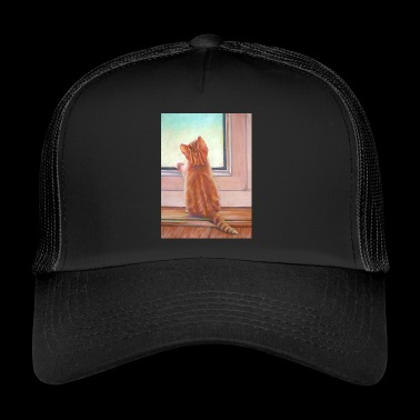 Ginger Kitten - Trucker Cap
