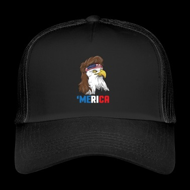 Patriotic Mullet Eagle Independence Day le 4 juillet - Trucker Cap
