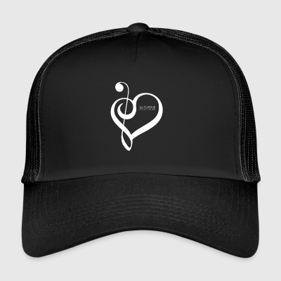 Music is life ! - Trucker Cap