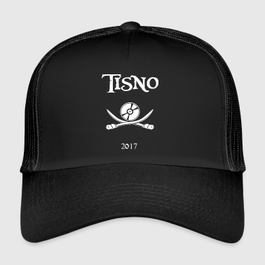 Tisno Digital Pirate blanco - Gorra de camionero
