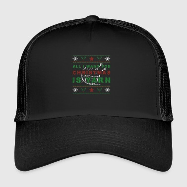 Christmas wool - Trucker Cap