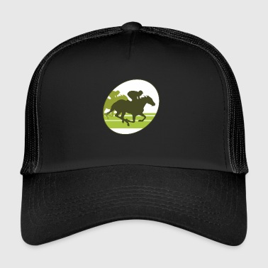 Gallop, horse , stallion, mare - Trucker Cap
