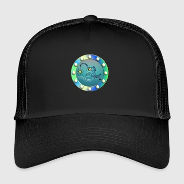 Porthole lanterner fisk design for barn - Trucker Cap