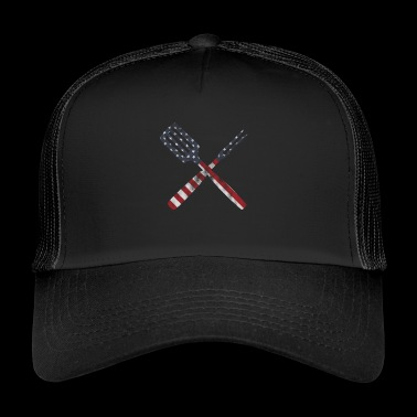 Cutlery stars and stripes - Trucker Cap