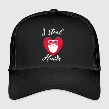 I steal Hearts - Hipster - Trucker Cap