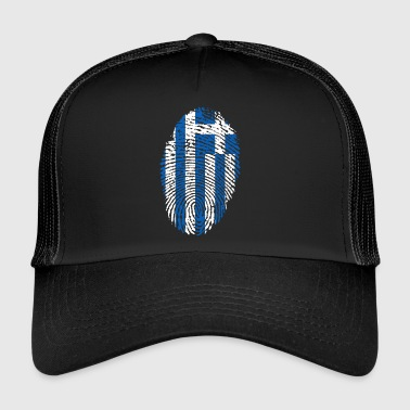 Fingerprint - Greece - Trucker Cap