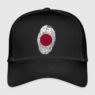 Fingeraftryk - Japan - Trucker Cap