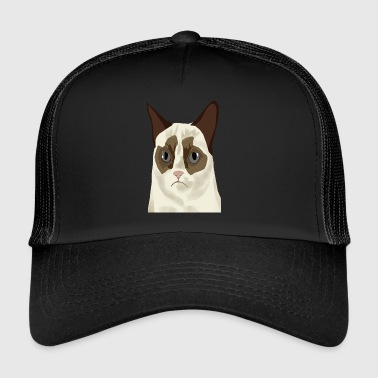 grumpy cat V2 - Trucker Cap