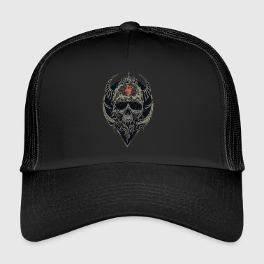 Skull with horns - Trucker Cap