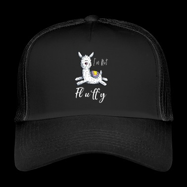 I'm not fluffy Lama - I'm not fluffy - Trucker Cap