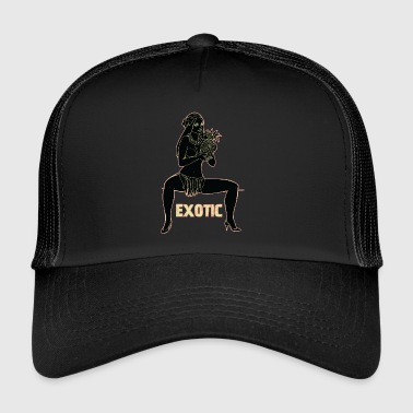 exotic sexy girl black - Trucker Cap