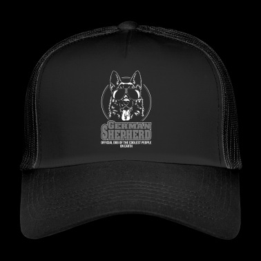 GERMAN SHEPHERD coolest people - Trucker Cap