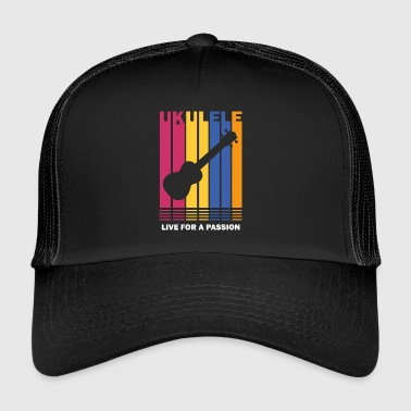 live for a passion ukulele - Trucker Cap