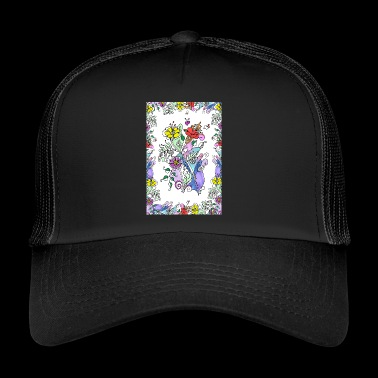 Colorful flowers - Trucker Cap
