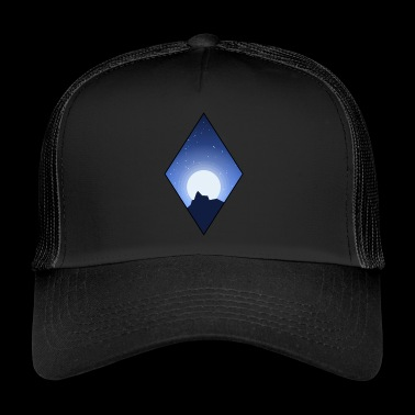Rhombus at night - Trucker Cap
