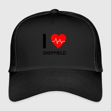 I Love Sheffield - I love Sheffield - Trucker Cap