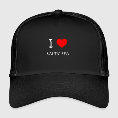 I Love Baltic Sea - Trucker Cap