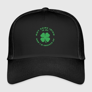 Funny Irish Pregnant - Trucker Cap
