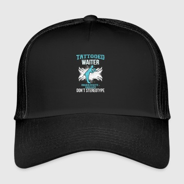 Horny, horny, Tattoos! - Trucker Cap