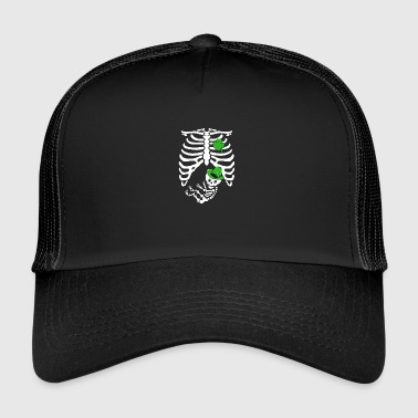 Irish skeleton Funny - Trucker Cap