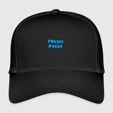 papa super - Trucker Cap