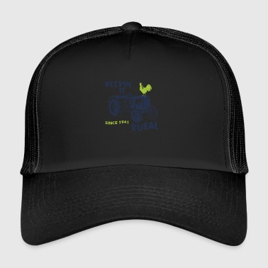 Agriculture sayings - Trucker Cap