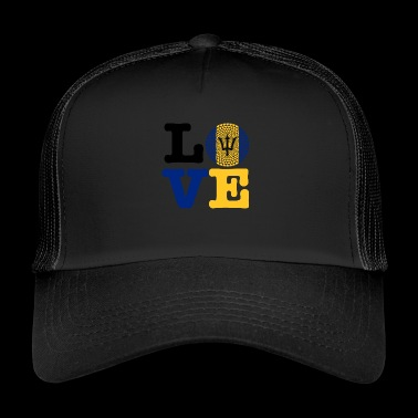 Barbados heart - Trucker Cap