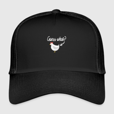 Wie is de eerste? - Trucker Cap