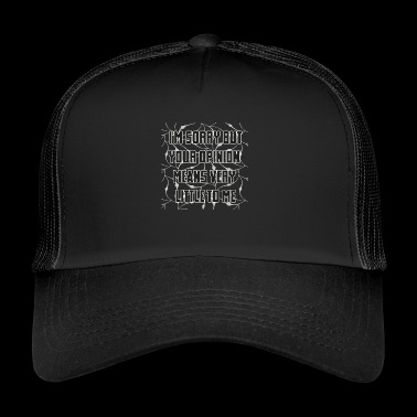 comment - Trucker Cap