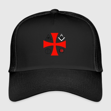secret societies - Trucker Cap