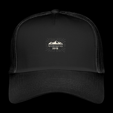 Alps crossing 2018 Alps hiking gift idea - Trucker Cap