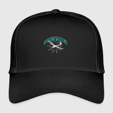 Hang gliding, flying, sky - Trucker Cap