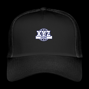 college XYZ - Trucker Cap