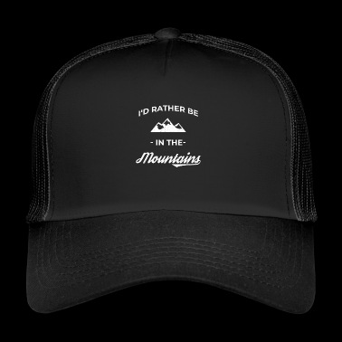 Mountain Mountaineering Mountain sports Mountain running Climbing - Trucker Cap