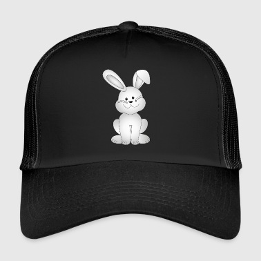 Libo the little white rabbit - Trucker Cap