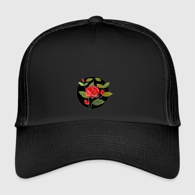 Rose ornamento - Trucker Cap