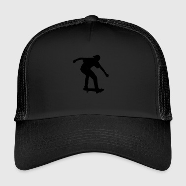 Skateboard - Trucker Cap