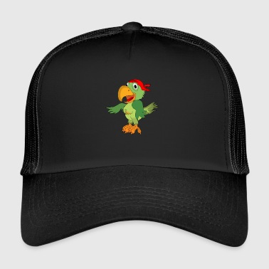 Parrot Pirate Corsair - Trucker Cap