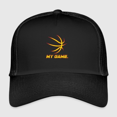 Basketball! BBall! Streetball! NBA! Court! - Trucker Cap