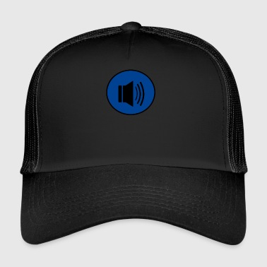 Audio button design - Trucker Cap