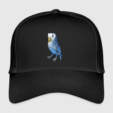 Parrot bird birds cage canary finch - Trucker Cap